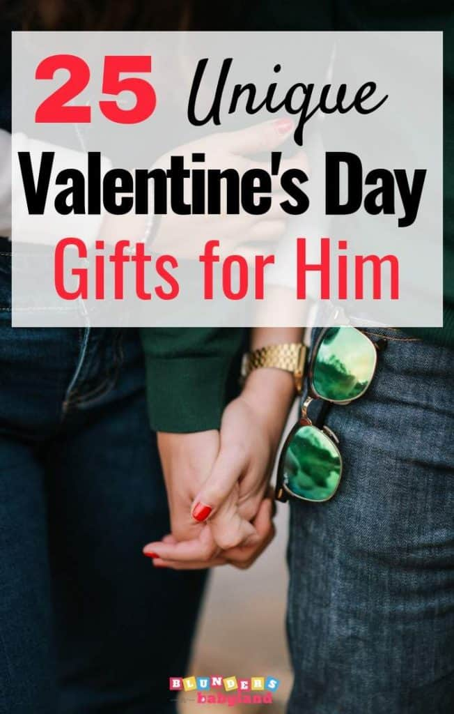 25 Unique Valentine's Day Gifts for Him