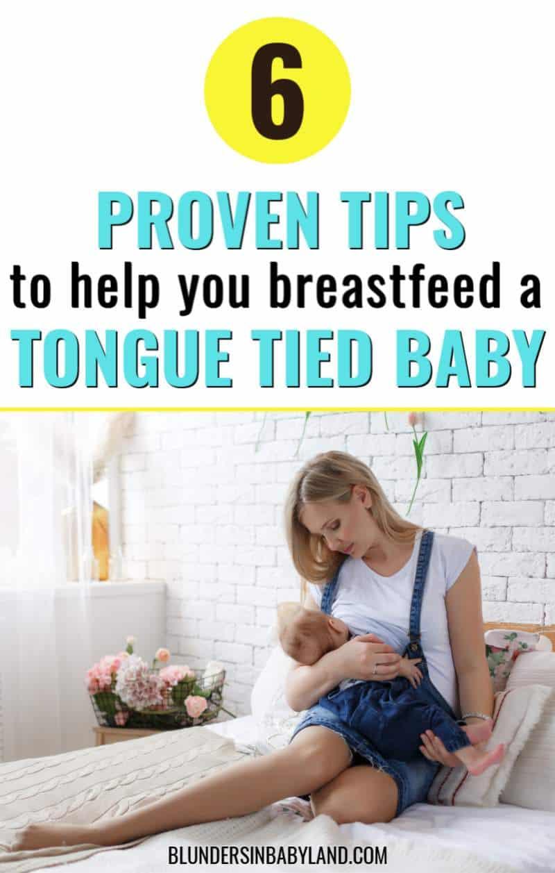 Breastfeeding a Tongue Tied Baby