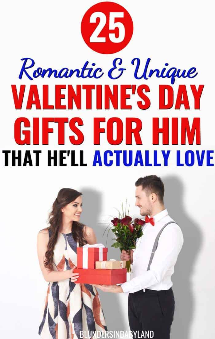 Romantic and Unique Valentine's Day Gifts for Him - Husbands and Boyfriends (1)