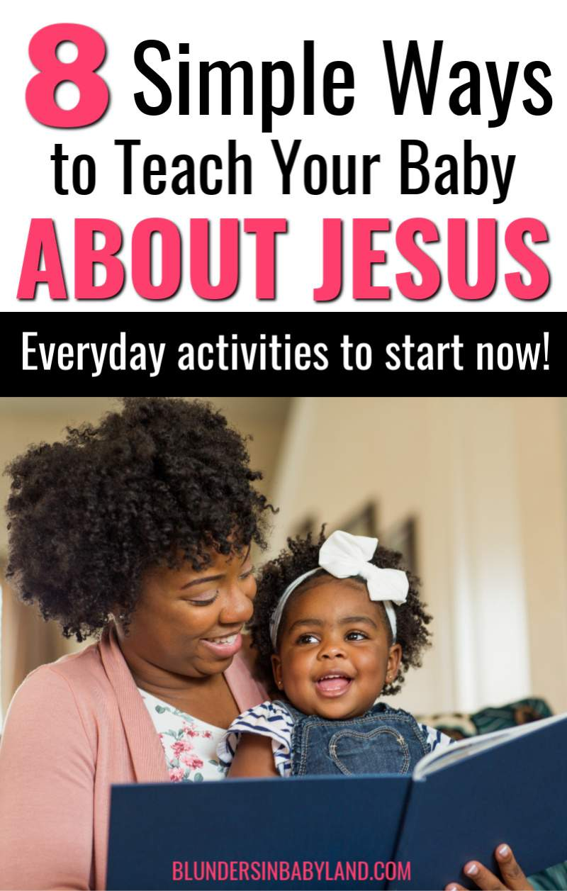 Teach Baby About God - Introduce Child to Jesus