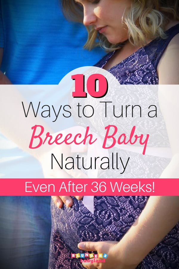 Turning a Breech Baby: How to Turn a Breech Baby Naturally