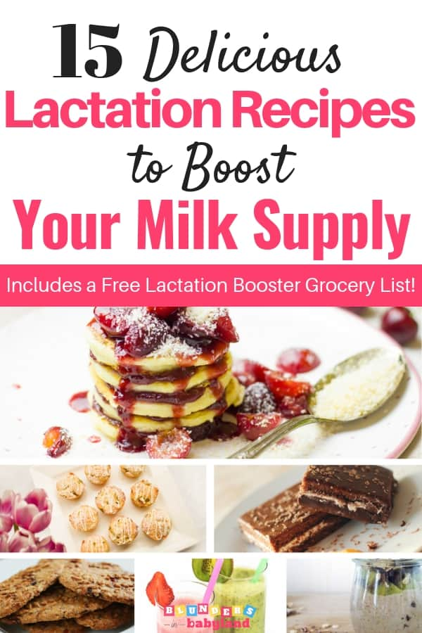 15 Delicious Lactation Recipes to Boost Your Milk Supply