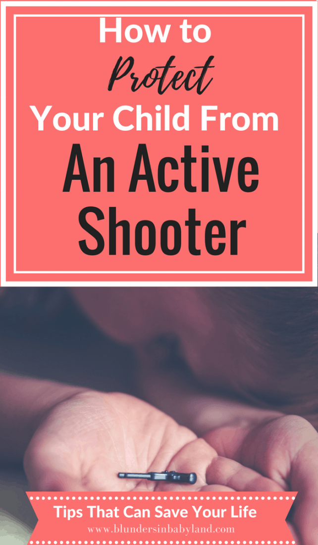 How to Protect Your Child from an Active Shooter