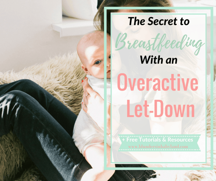 The Secret To Breastfeeding with an Overactive Let-Down