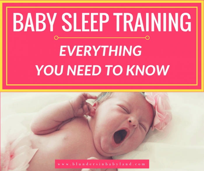 Baby Sleep Training: Everything You Need to Know-FB