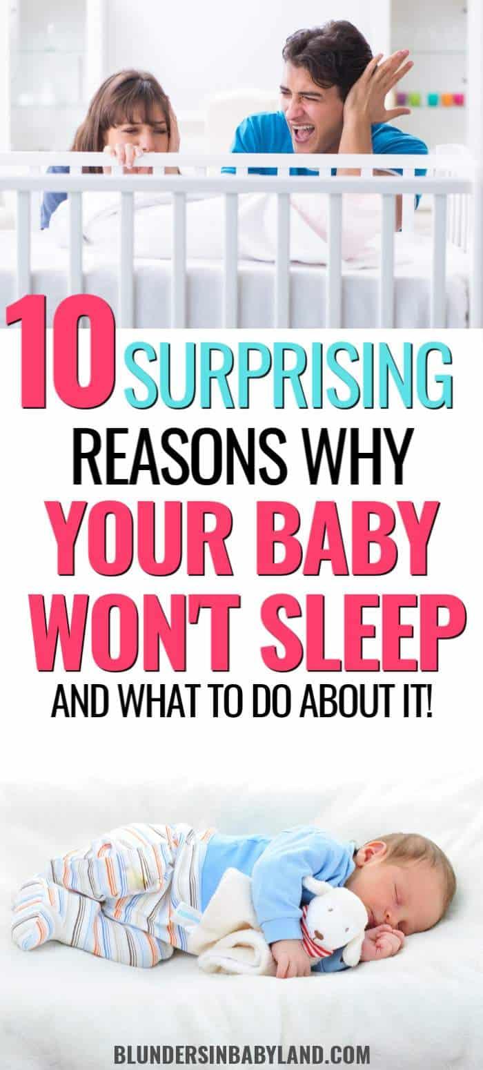 Baby Won't Sleep - Sleep Props - Baby Sleep Training