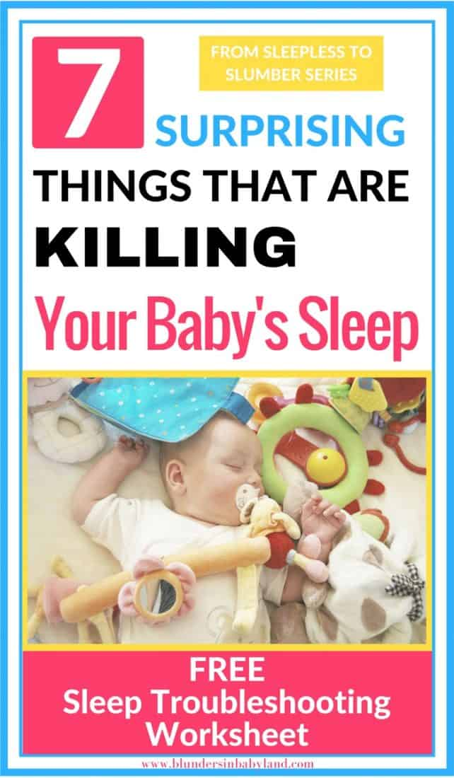 The Real Reason Why Your Baby Won't Sleep