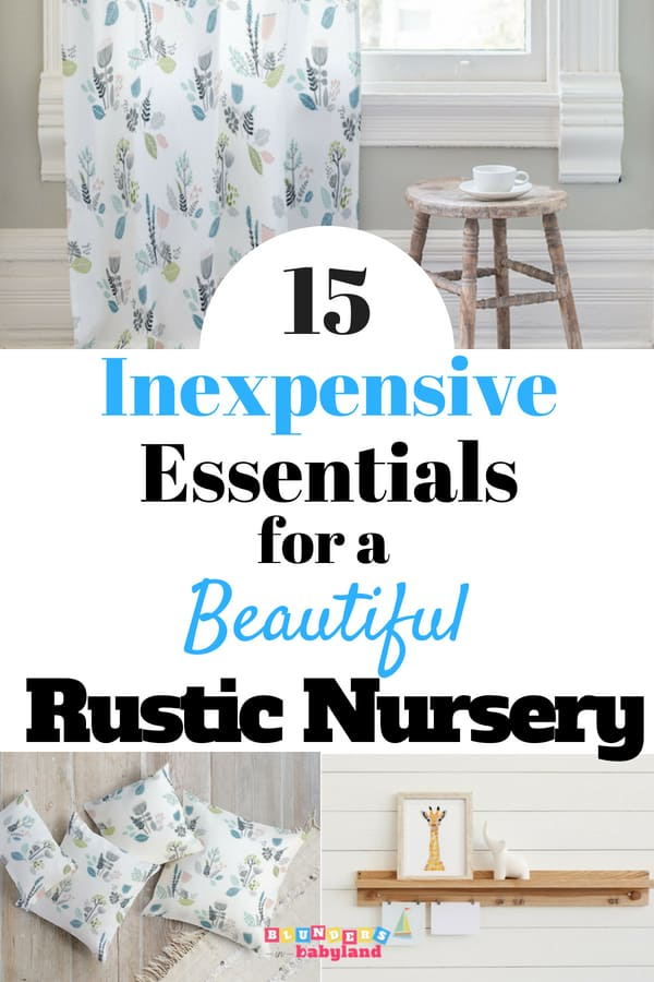 15 Inexpensive Rustic Essentials for a Beautiful Baby Girl Nursery