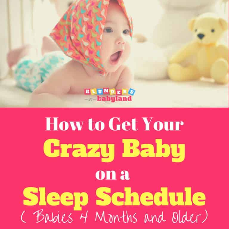 How to Get Your Crazy Baby on a Sleep Schedule