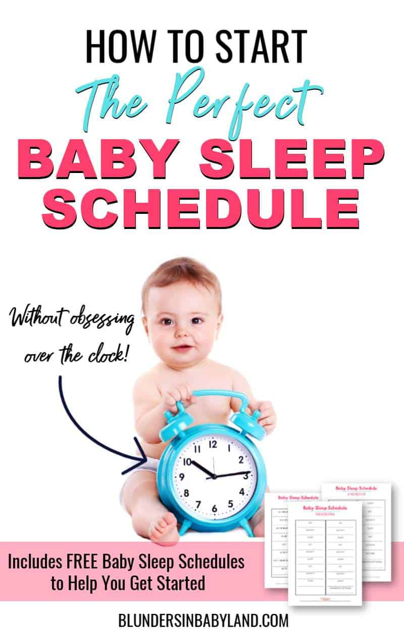 How to Start a Baby Sleep Schedule