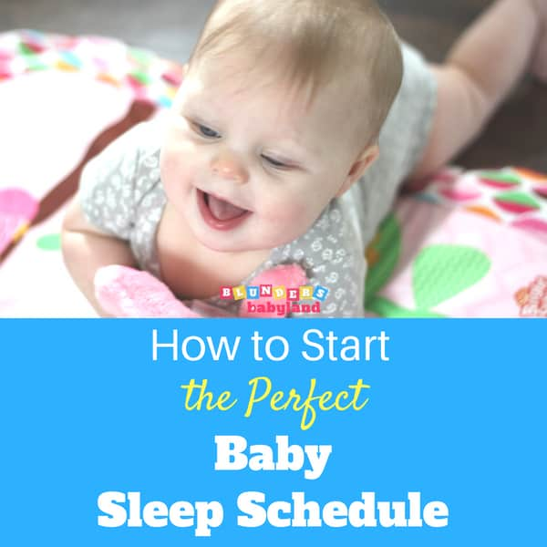 How to Start the Perfect Baby Sleep Schedule