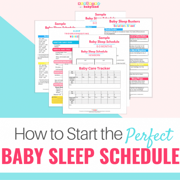 Start Baby Sleep Schedule