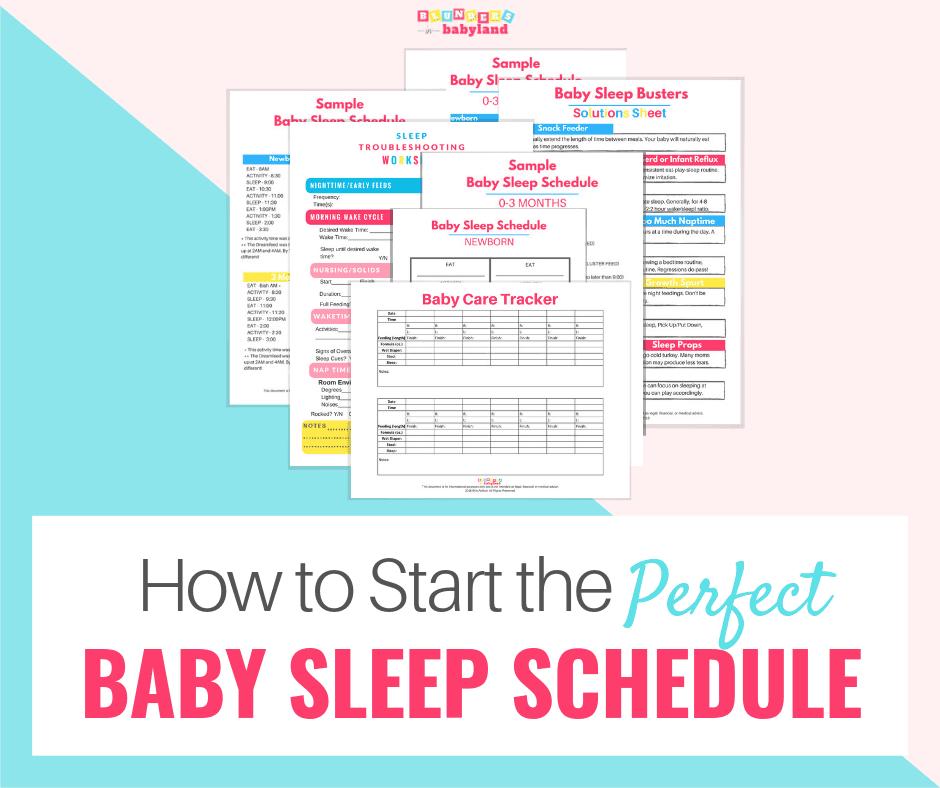 Start Baby Sleep Schedule