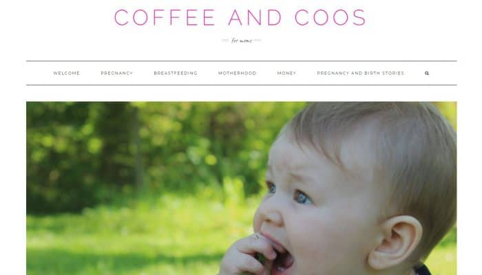 New Mom Blogs to Follow - Coffee and Coos