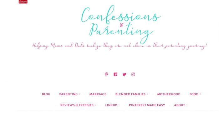 New Mom Blogs to Follow - Confessions of Parenting
