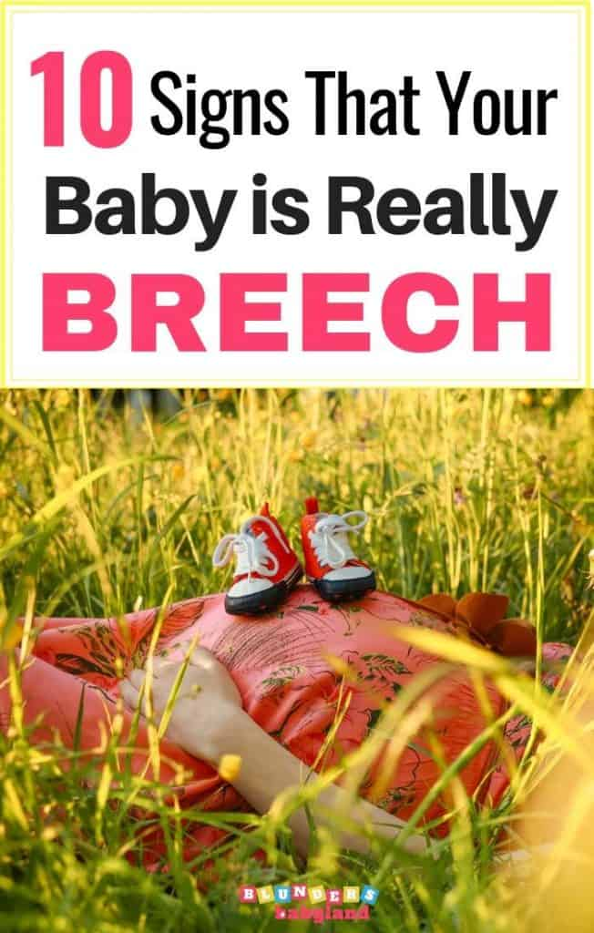 How to Tell if Your Baby is Breech - Signs of a Breech Baby (1)
