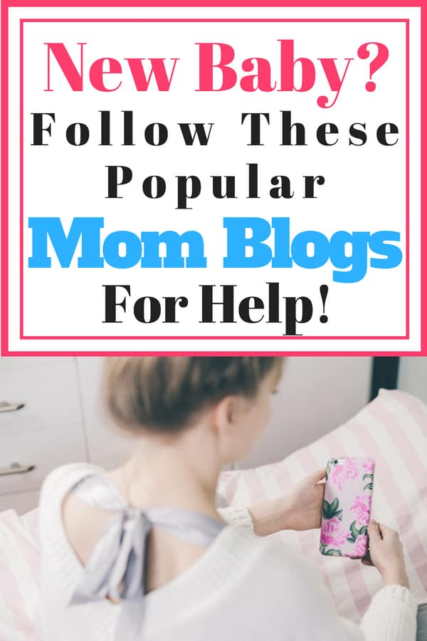 New Baby? Follow these Popular Mom Blogs