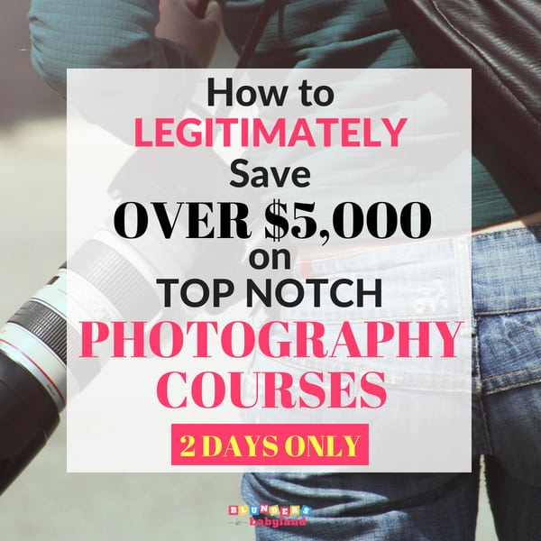 How to Legitimately Save Over 5000 on Photography Courses - Ultimate Photography Bundle
