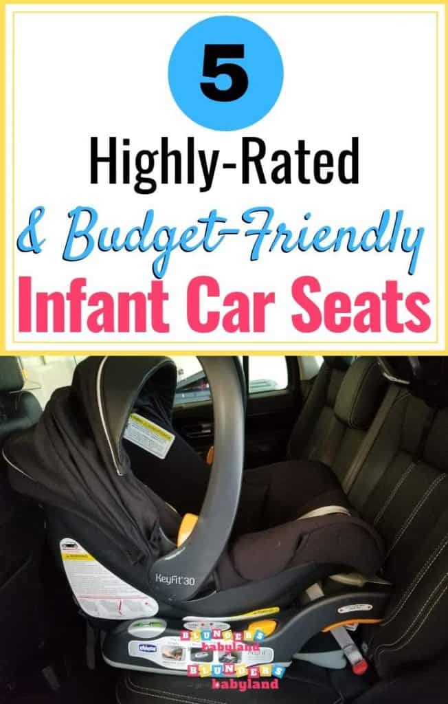 5 Highly Rated and Budget Friendly Infant Car Seats