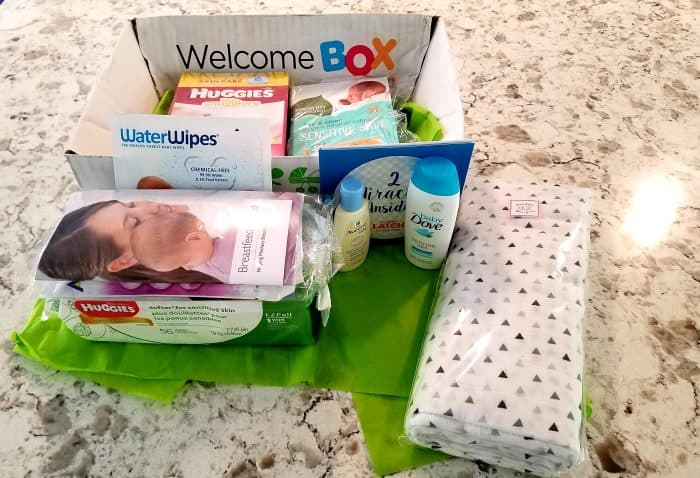 Amazon Welcome Box - Pregnancy Freebies