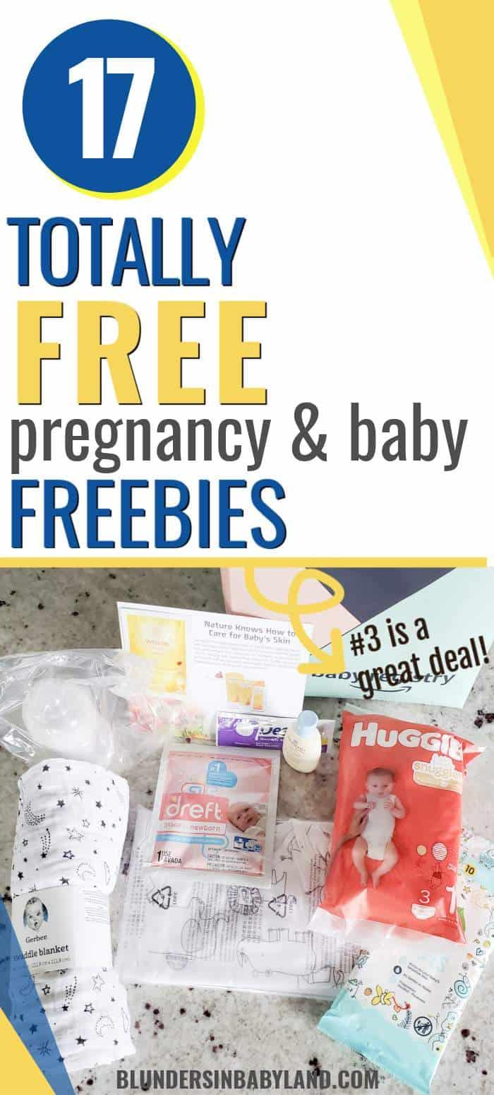 LEGITIMATELY FREE PREGNANCY FREEBIES - FREE BABY SAMPLES