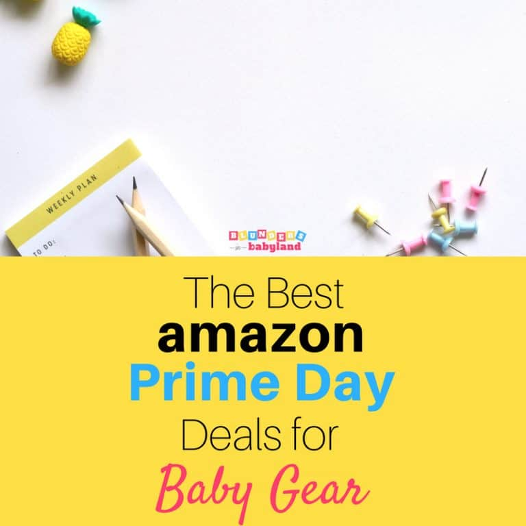 The Best Amazon Prime Day Deals for Baby Gear