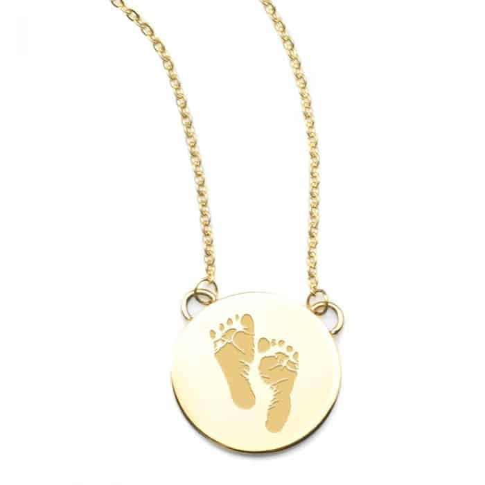 Thoughtful Impressions - Baby Footprint Necklace