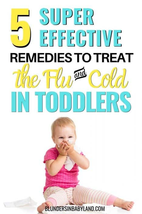Effective Home Remedies to Treat the Flu in Toddlers