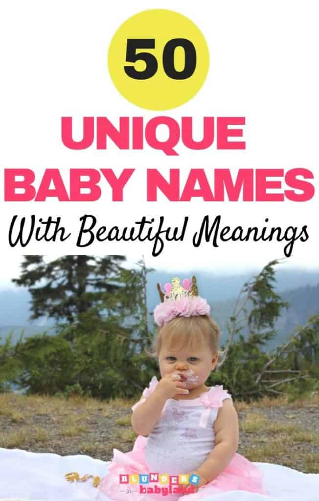 50 Unique Baby Names with Beautiful Meanings - (1)