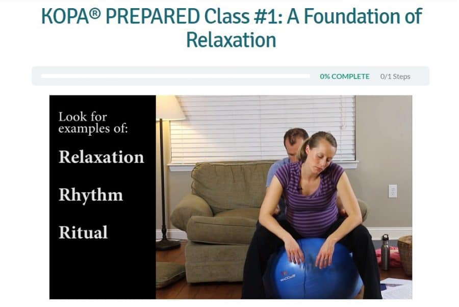 Kopa Prepared Birth Class - Lesson