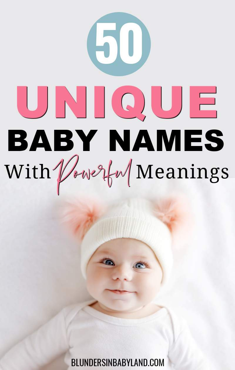 Unique Baby Names for Boys and Girls - Unique Baby Names with Meanings