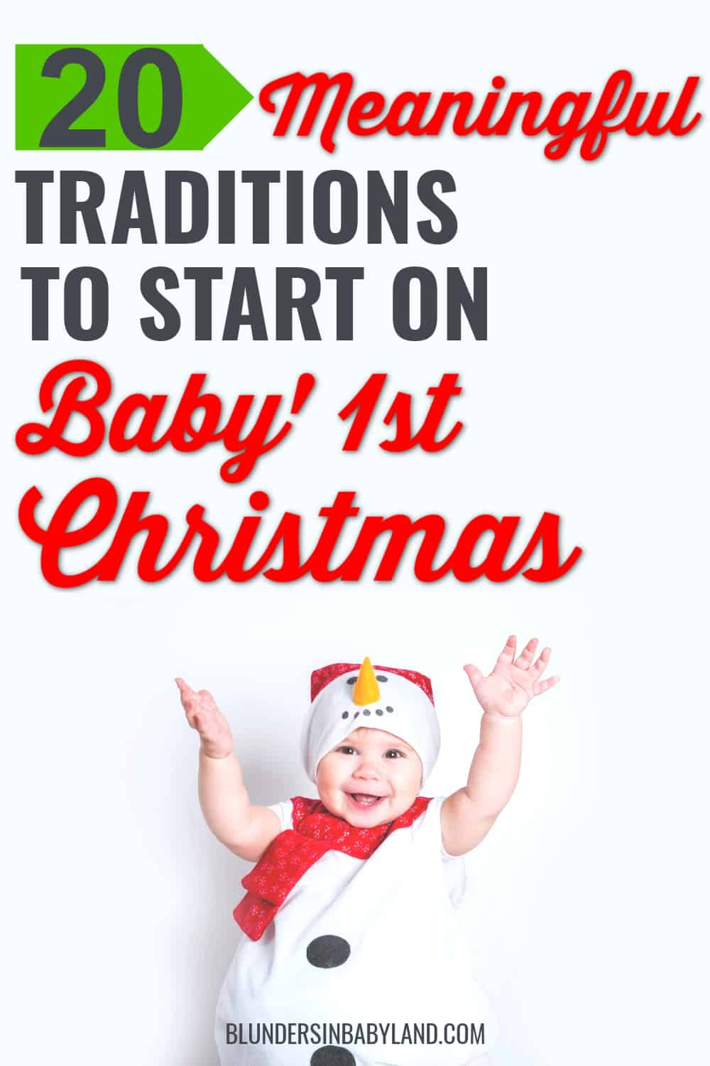 Christmas Traditions for Baby's First Christmas