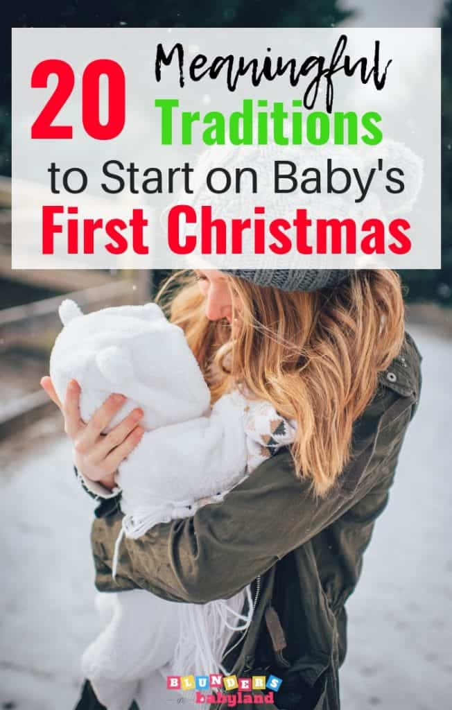 Meaningful Traditions to Start on Baby's First Christmas 2