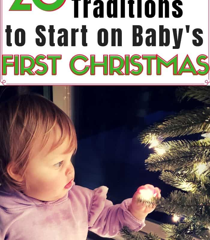 Meaningful Traditions to Start on Baby's First Christmas