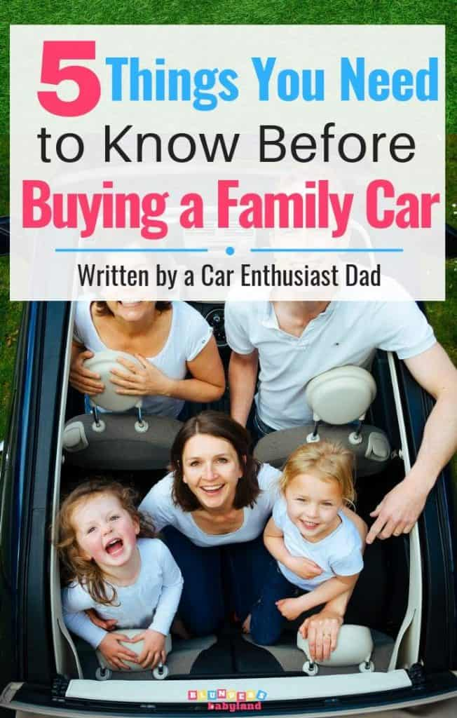 5 Things You Need to Know Before Buying a Family SUV