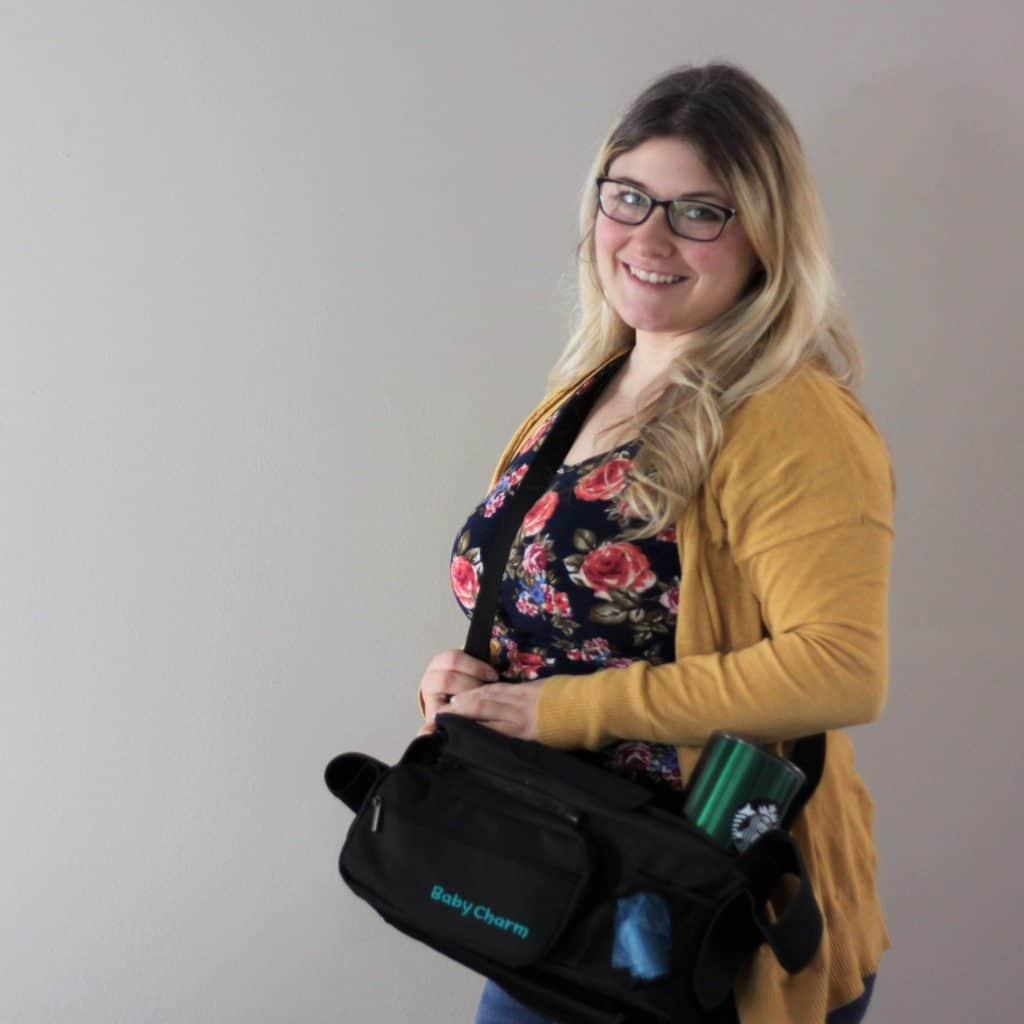 Baby Charm Stroller Organizer - Erin - Shoulder Strap