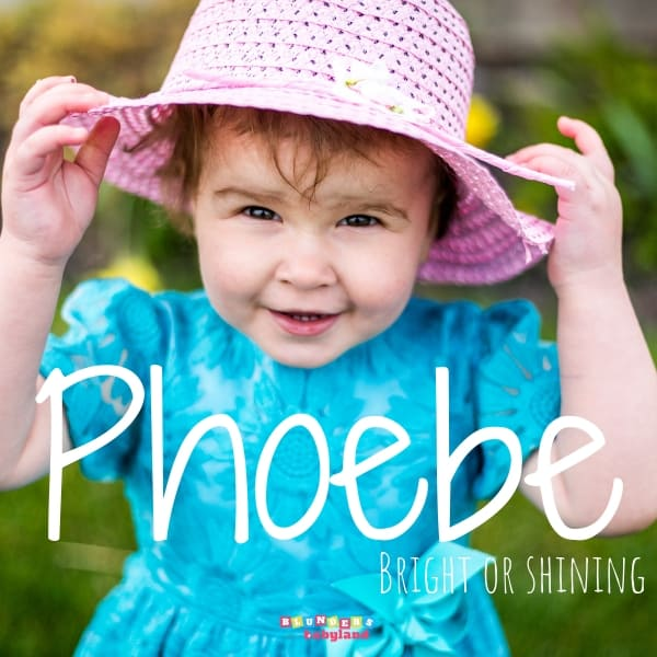 Phoebe - Unique Biblical Baby Names - Baby Names from the Bible
