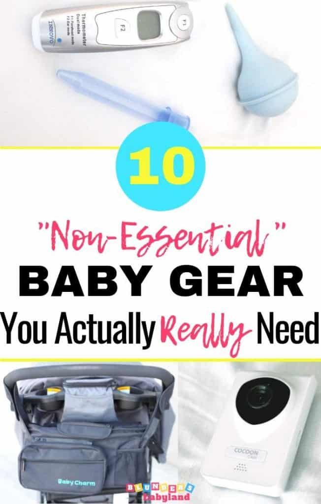 10 Non Essential Baby Items You Actually Really Need - Baby Essentials