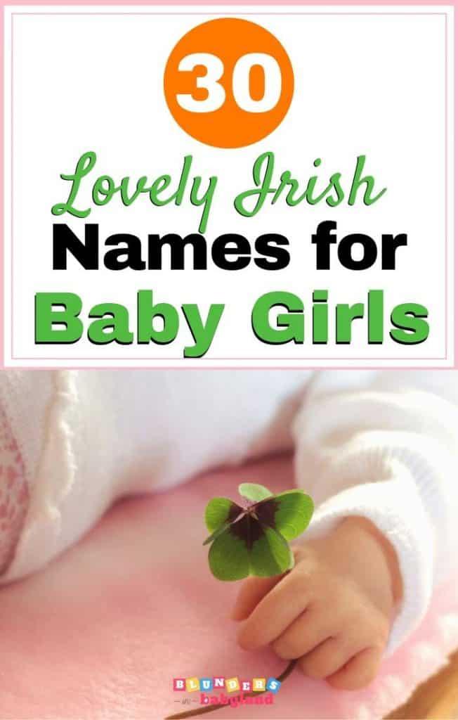 30 Lovely Irish Baby Girl Names
