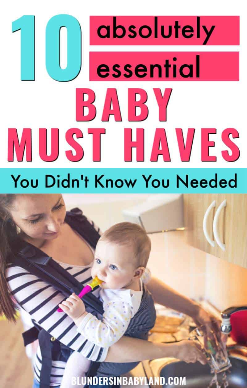 Baby Must Haves You Didn't Know You Needed