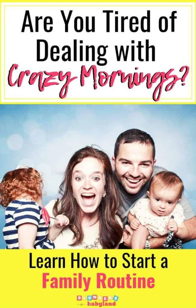 Family Routines Course- Family Routines Ideas