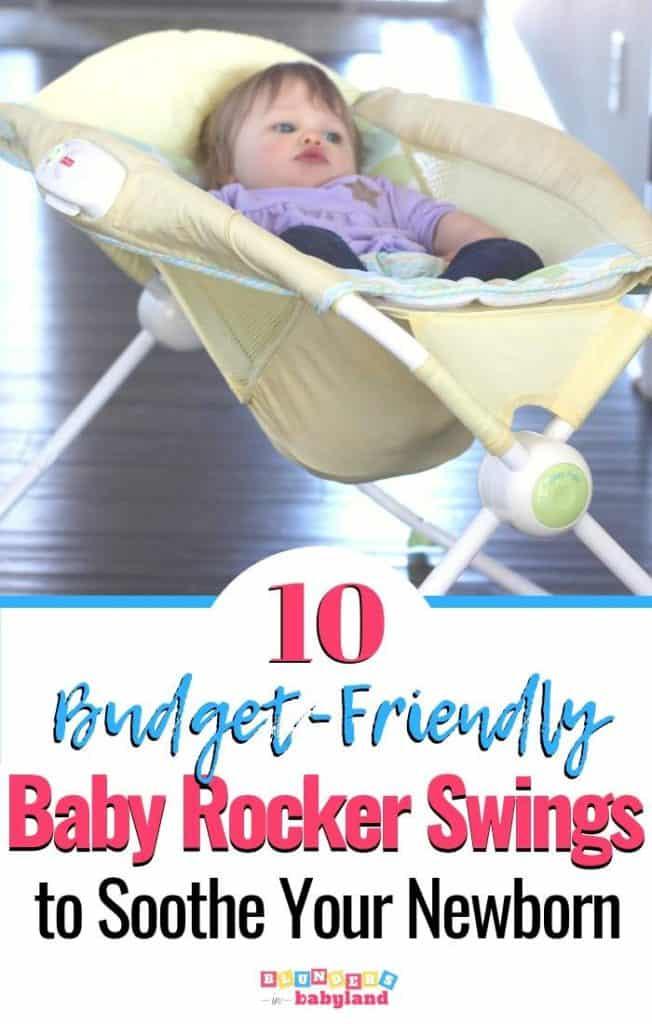 10 Budget-friendly Baby Rocker Swings - Baby Swings