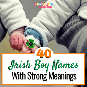 40 Unique Irish Boy Names With Strong Meanings