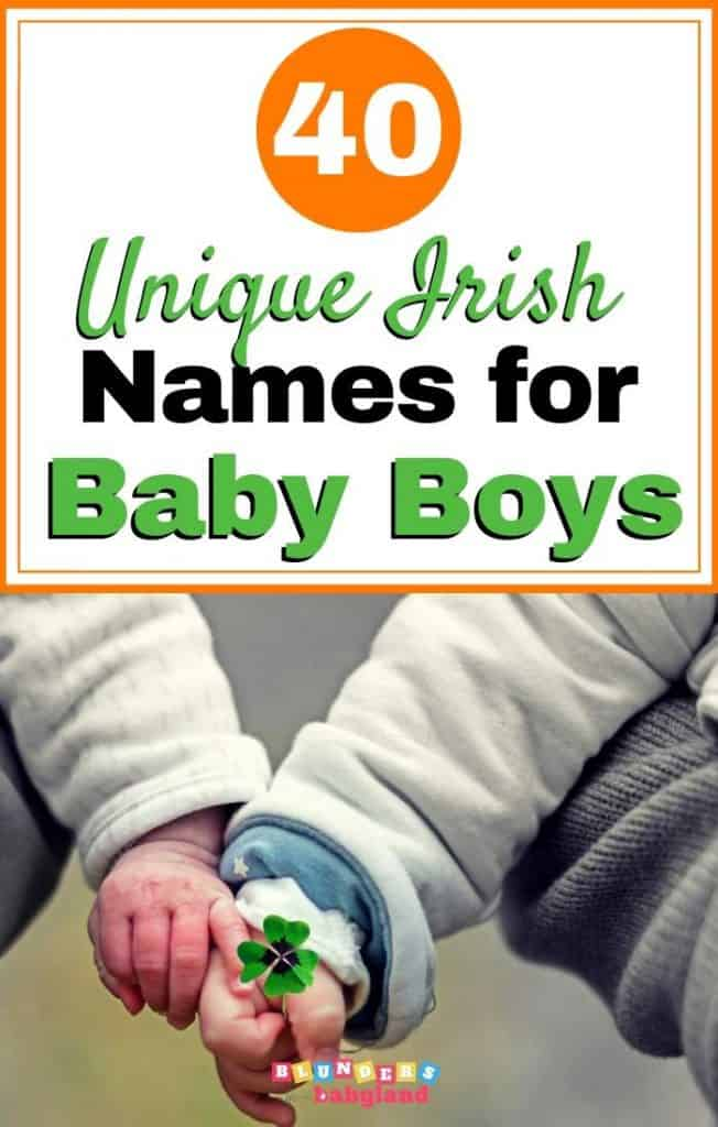 Unique Irish Baby Boy Names