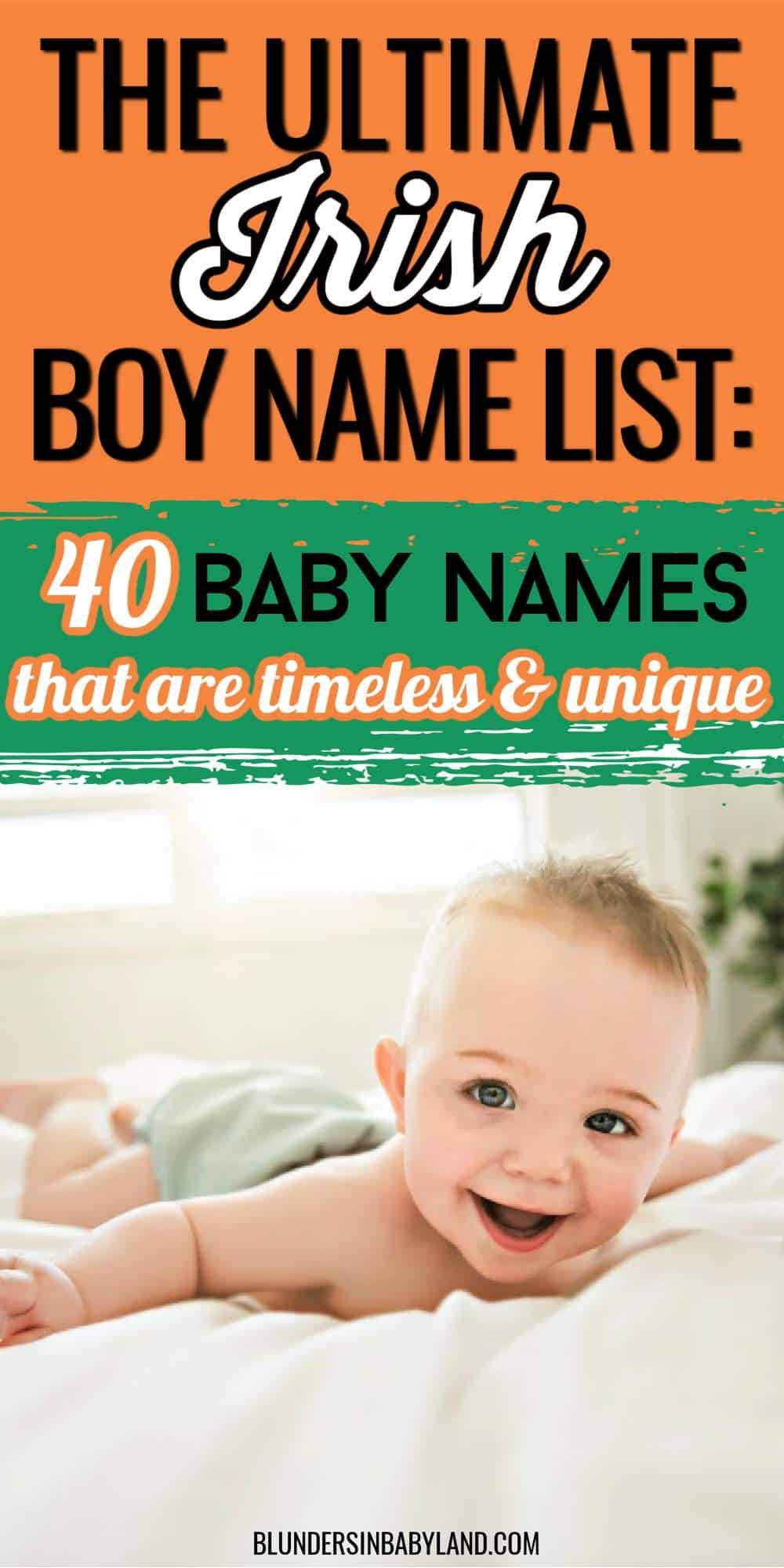 Irish Boy Names - Irish Baby Names