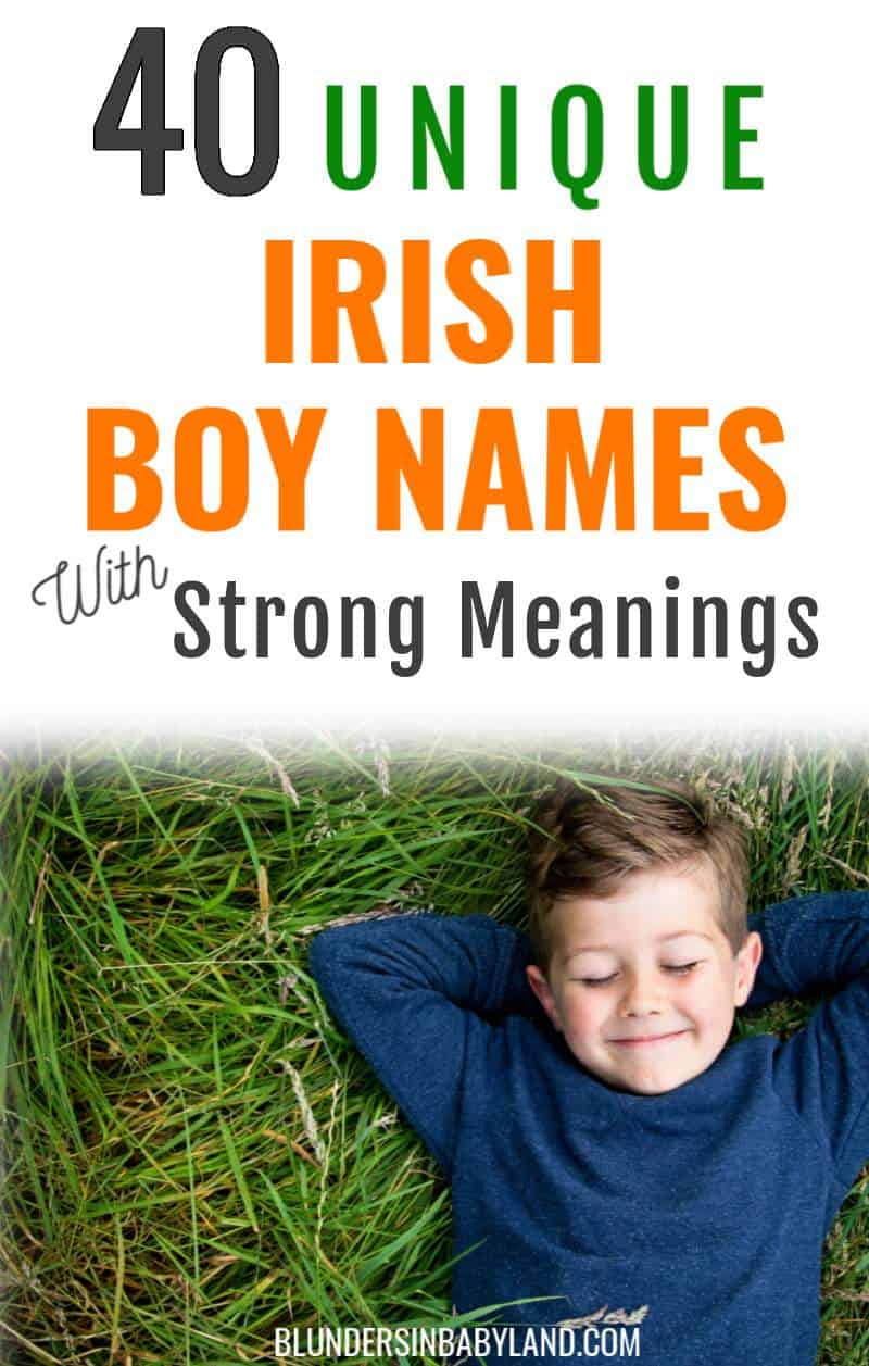 Unique Irish Boy Names - Strong Irish Boy Names