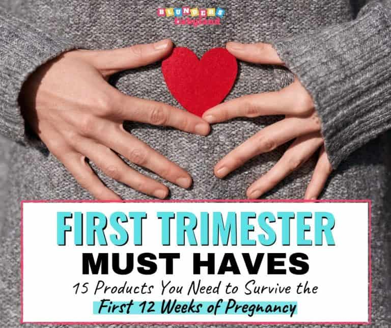 First Trimester Must Haves: 15 Pregnancy Essentials You Don't Want to Miss