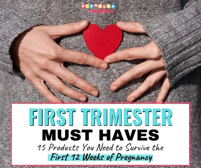 First Trimester Must Haves - Pregnancy Must Haves - First Trimester Favorites