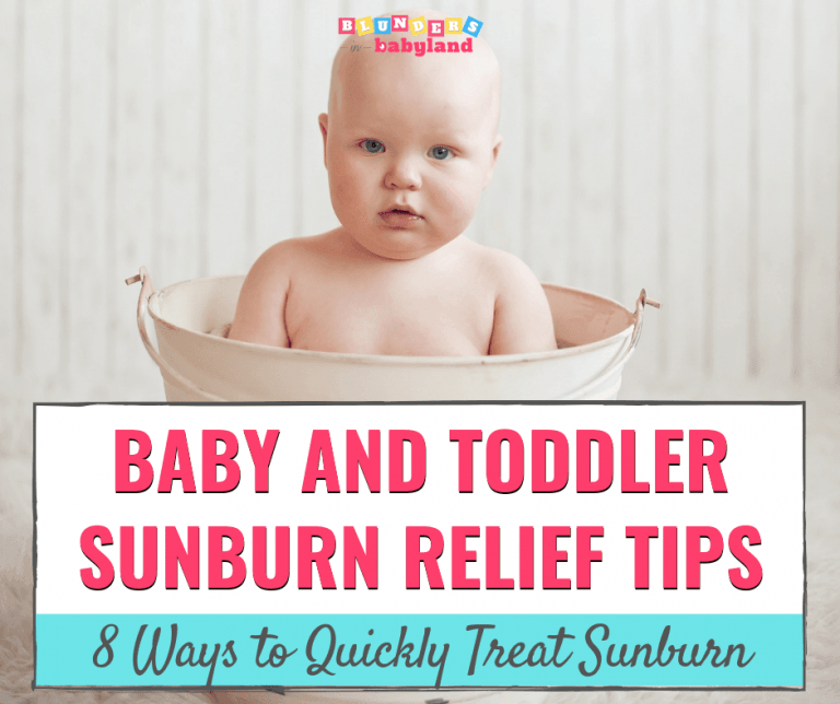 The Best Sunburn Relief for Babies and Toddlers: