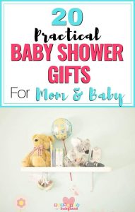 Practical Baby Shower Gifts for Mom and Baby - Baby Shower Gift Ideas for Mommy